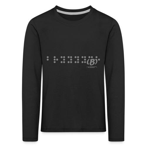 Bryyyyce - T-shirt manches longues Premium Enfant