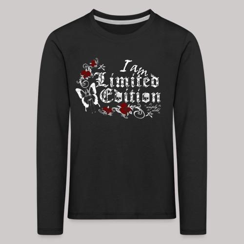 simply wild limited edition on black - Kinder Premium Langarmshirt