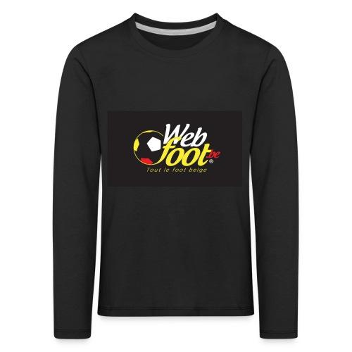webfoot.be - T-shirt manches longues Premium Enfant