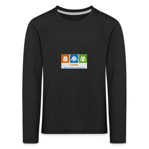 IMG 3596 - Børne premium T-shirt med lange ærmer