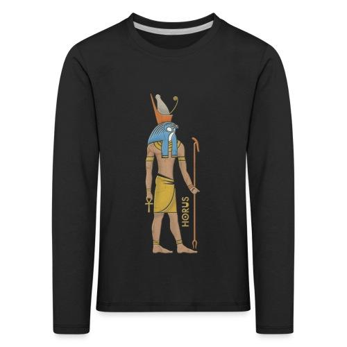 Horus I altägyptische Gottheit - Kinder Premium Langarmshirt