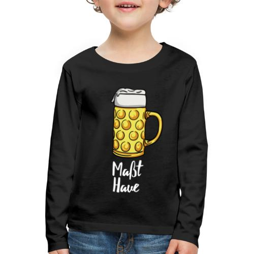 Maßt-Have - Kinder Premium Langarmshirt