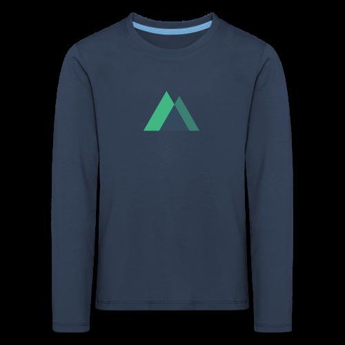 Mountain Logo - Kids' Premium Longsleeve Shirt