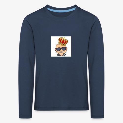 My king - Långärmad premium-T-shirt barn