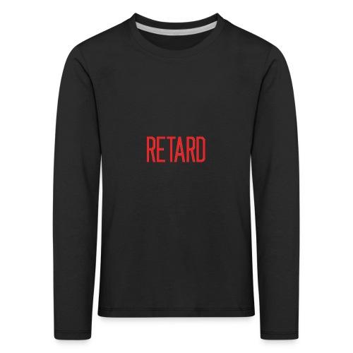Retard Klær - Premium langermet T-skjorte for barn