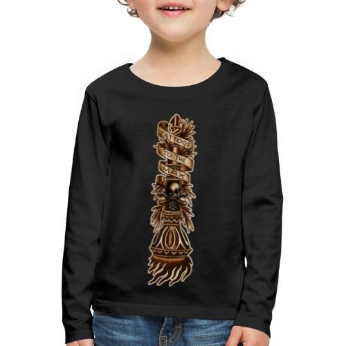 Torch Fackel Tattoos to the Max - Kinder Premium Langarmshirt