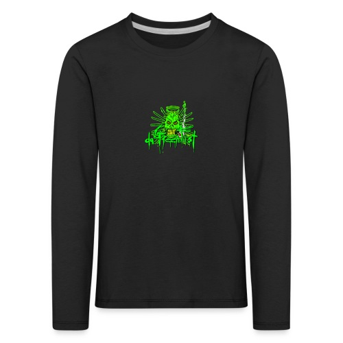 GFSkullOnlyColorShirt - Kids' Premium Longsleeve Shirt