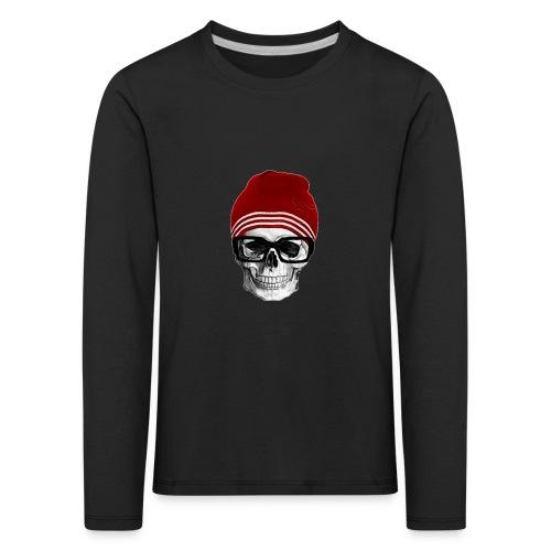 Tête de mort tendance - T-shirt manches longues Premium Enfant