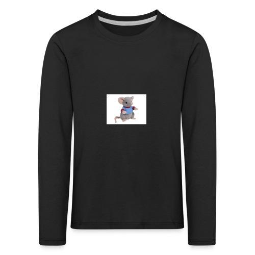 rotte - Børne premium T-shirt med lange ærmer