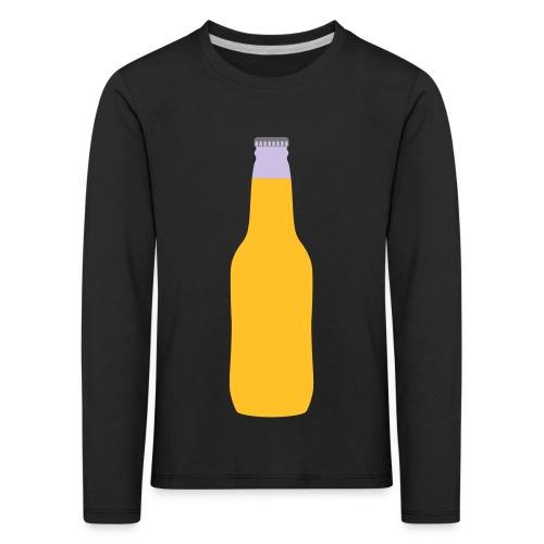 Bierflasche - Kinder Premium Langarmshirt