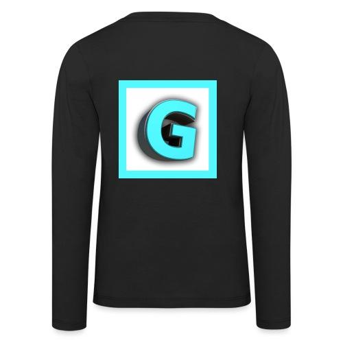 Logo - Långärmad premium-T-shirt barn