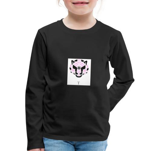 Tigeren fra junglen - Børne premium T-shirt med lange ærmer