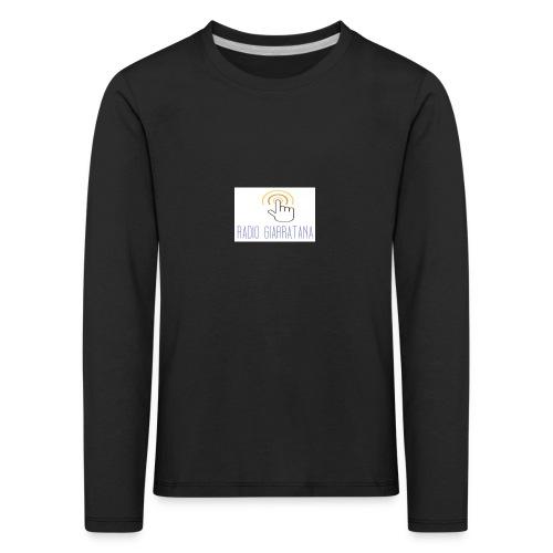 GADGET RADIO GIARRATAnNA - Maglietta Premium a manica lunga per bambini