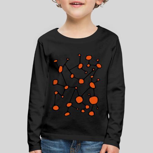 connected_version2 - Kinder Premium Langarmshirt