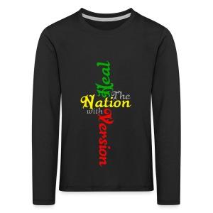 Reggae Healing Gears - Kids' Premium Longsleeve Shirt