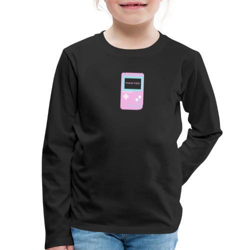 FYN!nt-nd0 - Camiseta de manga larga premium niño
