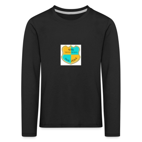 STG Vienna Kickers Logo - Kinder Premium Langarmshirt