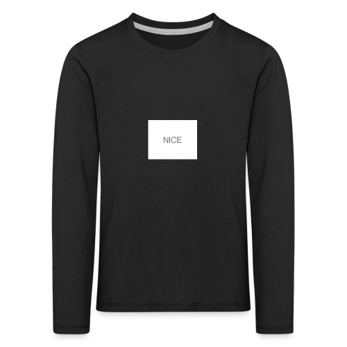 nice - Kinder Premium Langarmshirt
