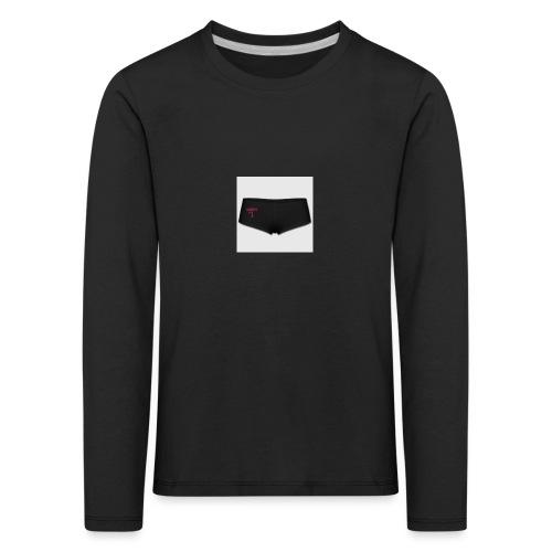 160369103 width 300 height 300 appearanceId 2 back - Børne premium T-shirt med lange ærmer