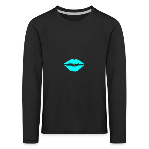 Blue kiss - Kids' Premium Longsleeve Shirt