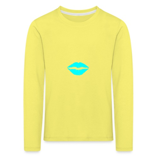 Blue kiss - Kids' Premium Longsleeve Shirt