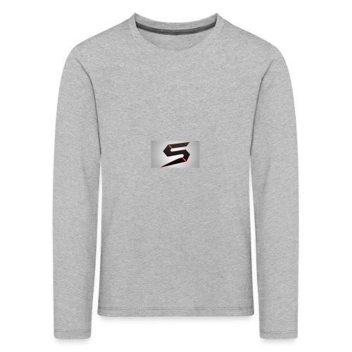cools - Premium langermet T-skjorte for barn