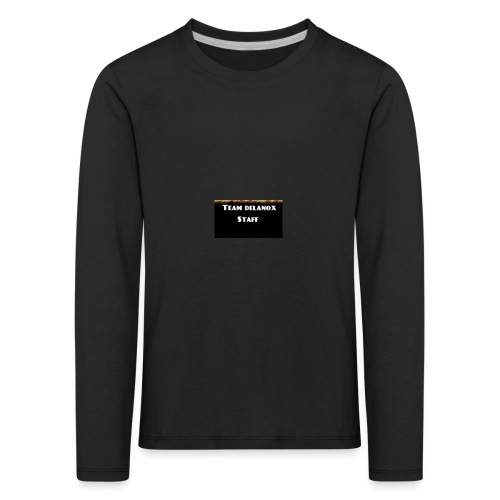 T-shirt staff Delanox - T-shirt manches longues Premium Enfant