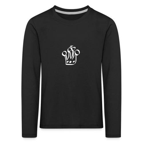 MTeVrede 6 kroon wit2 - Kids' Premium Longsleeve Shirt