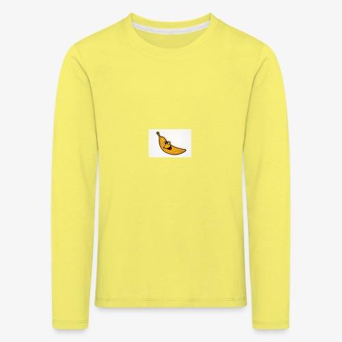 Bananana splidt - Børne premium T-shirt med lange ærmer