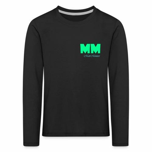 MattMonster Signature logo - Kids' Premium Longsleeve Shirt