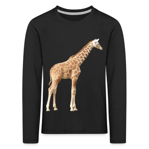 Giraffe - Kinder Premium Langarmshirt
