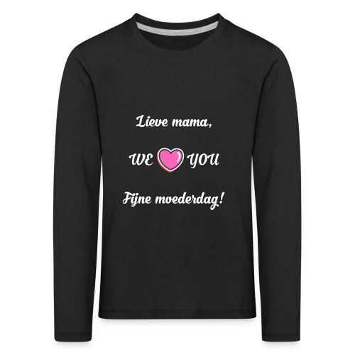 Mama - T-shirt manches longues Premium Enfant