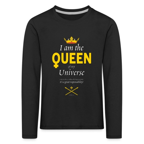 Royal Queen T-shirt - PAN Design - Drottning - Långärmad premium-T-shirt barn