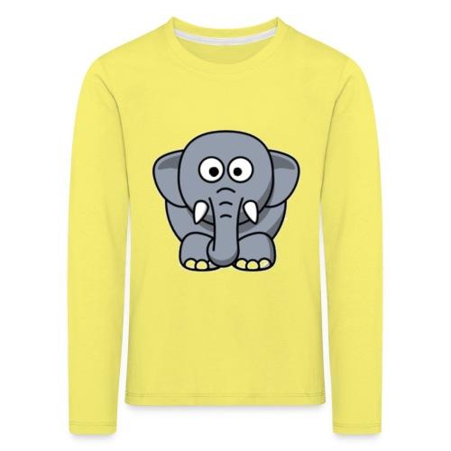 Olifantje - Kinderen Premium shirt met lange mouwen