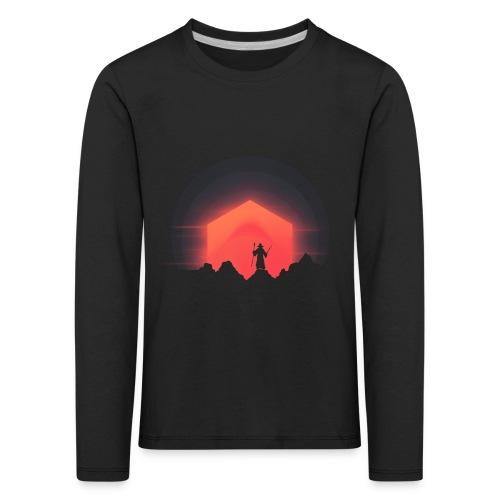 The Nightly Adventure D20 - DnD Dungeons Dragons - Lasten premium pitkähihainen t-paita