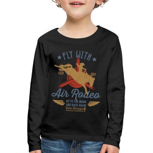 Flieg mit uns - Kinder Premium Langarmshirt