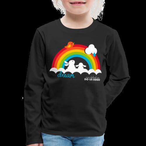 DREAM - Lasten premium pitkähihainen t-paita