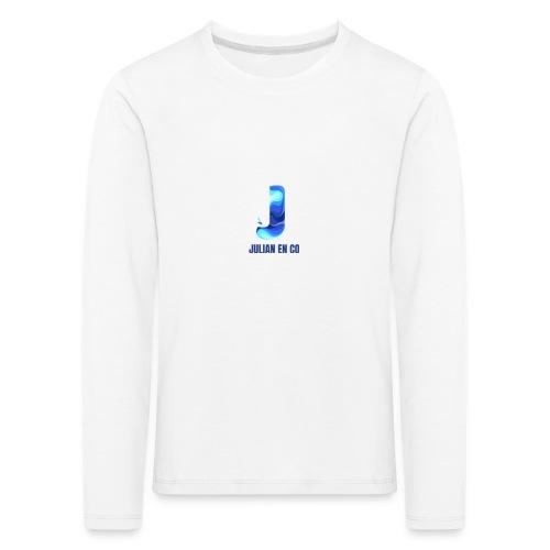 JULIAN EN CO MERCH - Kinderen Premium shirt met lange mouwen