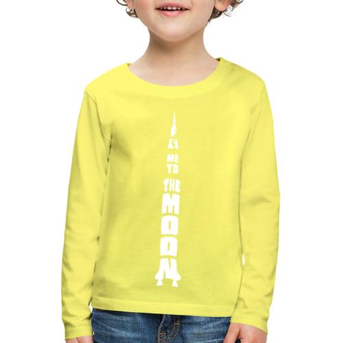 Fly me to the moon - Kinderen Premium shirt met lange mouwen