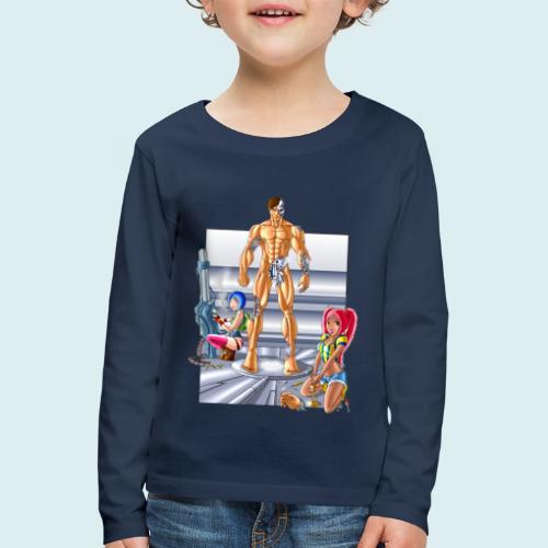 Terminator e meccaniche col - Maglietta Premium a manica lunga per bambini