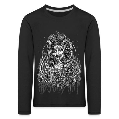 Murderous Beauty, Black'n White, Absurd Art - Kinder Premium Langarmshirt