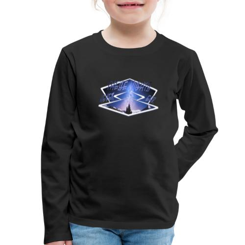 These nights never end - Kinder Premium Langarmshirt