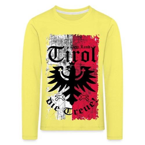 Tirol - Kinder Premium Langarmshirt