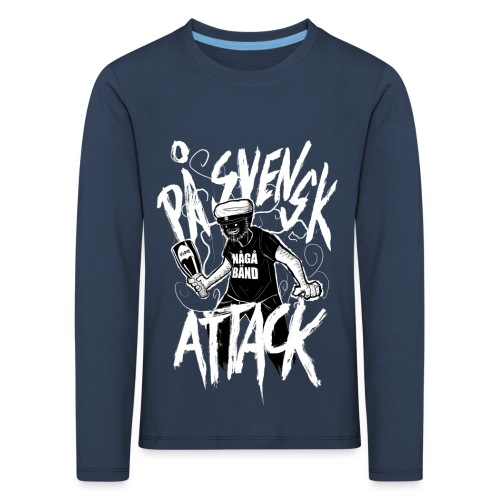På Svenska Tack - Kids' Premium Longsleeve Shirt