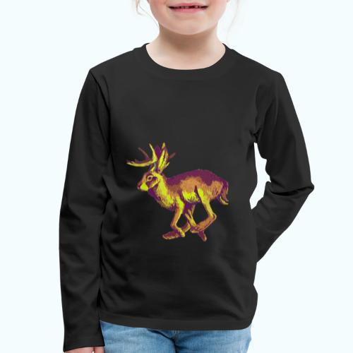 Fantasy Wolpertinger - Kids' Premium Longsleeve Shirt