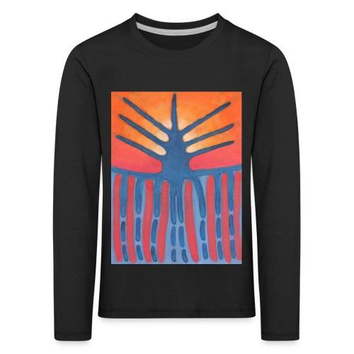 drzewo prehistoryczne 1 - Koszulka dziecięca Premium z długim rękawem