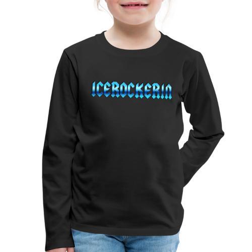 Icerockerin - Kinder Premium Langarmshirt