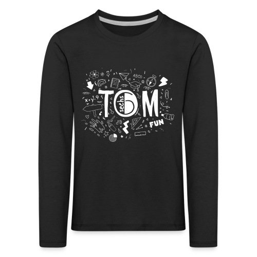 Tom go to School - Kinder Premium Langarmshirt