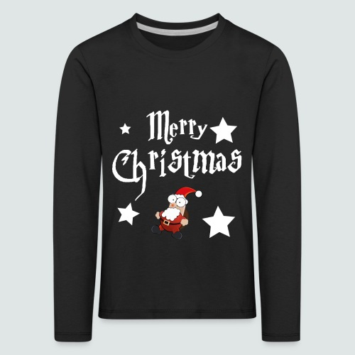 Merry Christmas - Ugly Christmas Sweater - Kinder Premium Langarmshirt