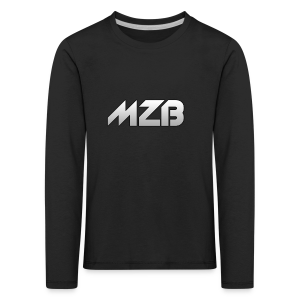 MZB Logo Design For Merch - Kids' Premium Longsleeve Shirt